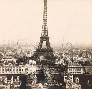 Expo universelle de 1900 - Vue du champs de Mars
