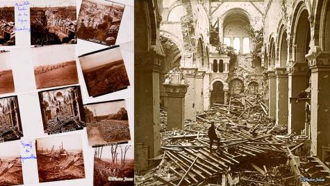Photos stéréoscopiques de la première guerre mondiale.