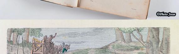 Numérisation – Gravure d'un roi dans un ouvrage centenaire