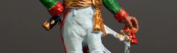 Packshot – Figurine de plomb