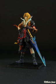 Packshot - Figurine Final Fantasy X - Tidus