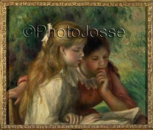 Prises de vues - La lecture de Pierre Auguste Renoir