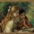 La lecture (1892) de Pierre Auguste Renoir - Musée du Louvre, Paris