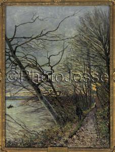 Prises de vues - Le bois des roches par Alfred Sisley