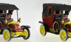 Modèle réduit d'un taxi de la marne 1914 - Profondeur de champ parfaite