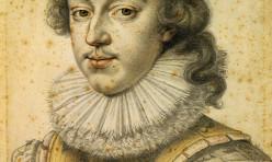 Portrait de Louis XIII a 21 ans par Dumonstier Etienne II. Peinture de 1622 conservée au musée Condé à Chantilly