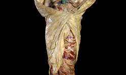 Statue en marbre et onyx de 1899 de Louis Ernest Barrias: La nature se dévoilant à la science. Musée d'Orsay, Paris