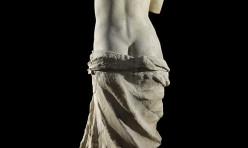 La venus de Milo exposée au Musée du Louvre à Paris