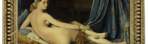 Grande Odalisque par Ingres Dominique de 1814. Musée du Louvre, Paris