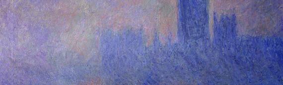 Le parlement de Londres par Claude Monet en 1904. Musée d'Orsay, Paris.