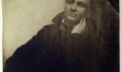 Portrait de Charles Baudelaire en 1855 par Nadar Felix Tournachon. Musée des Beaux Arts de Paris