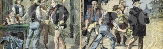 Gravures du 19ème siècle sur les élections